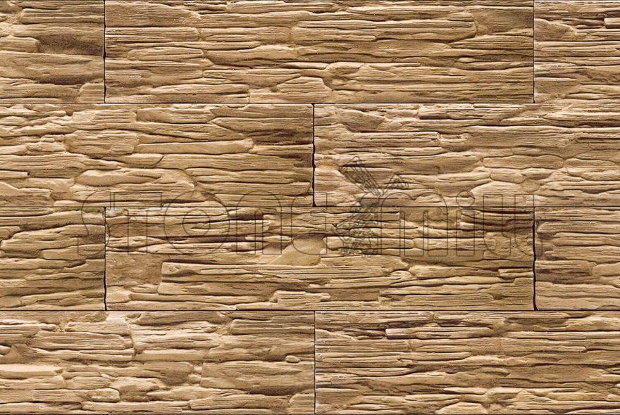 декоративный камень сланец Саянский коричневый