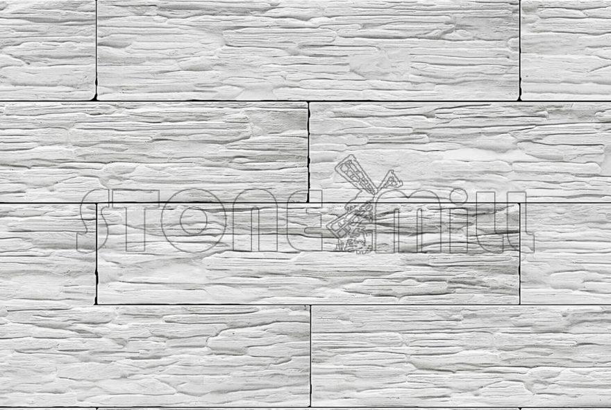 декоративный камень сланец Саянский белый