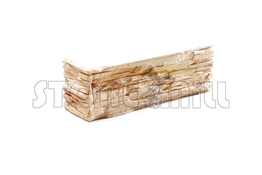 Угловой декоративный камень Саянский МИКС