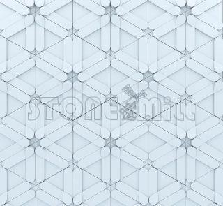 гипсовые 3d панели Геометрика