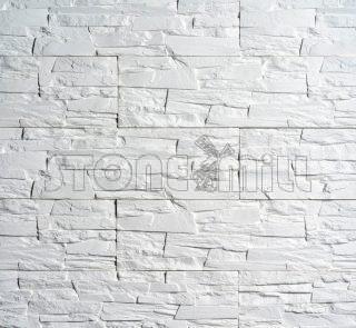 декоративный камень сланец каспровый белый