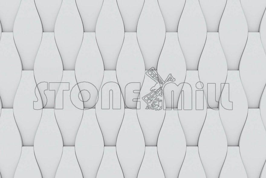 гипсовые 3D панели Тенерифе