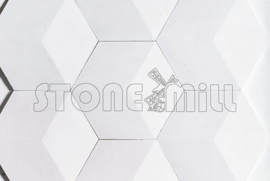 Декоративные гипсовые 3D панели Соты