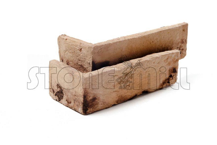 Угловой декоративный кирпич ручной формовки Бремен