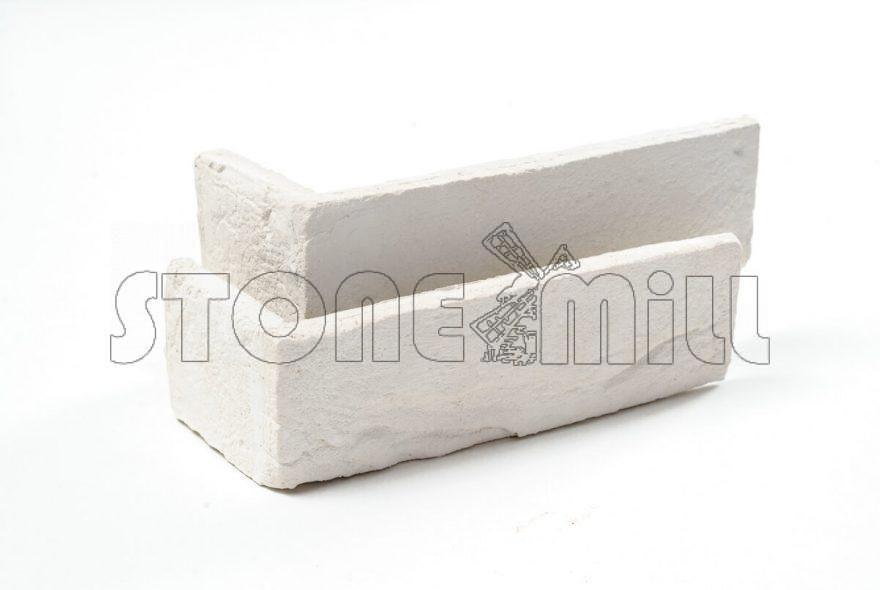 Угловой декоративный кирпич ручной формовки Турин