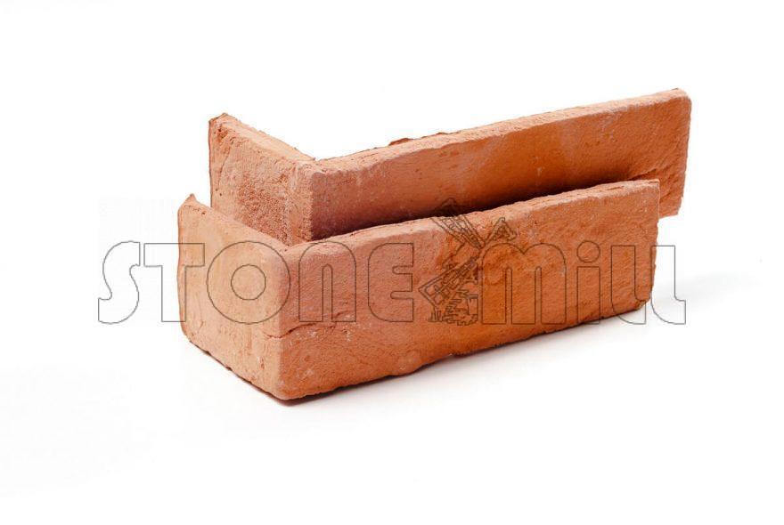 Угловой декоративный кирпич ручной формовки Венеция