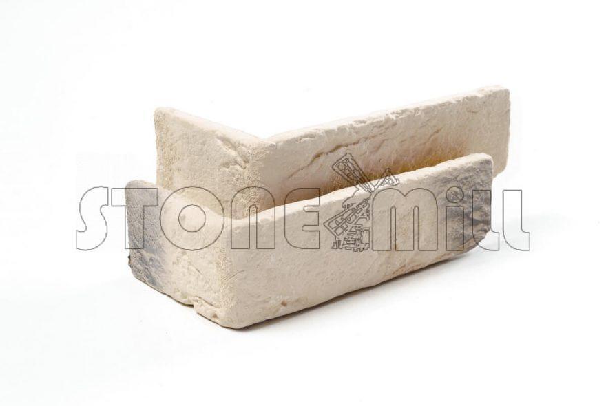 Угловые элементы декоративный кирпич Шамотный бежевый