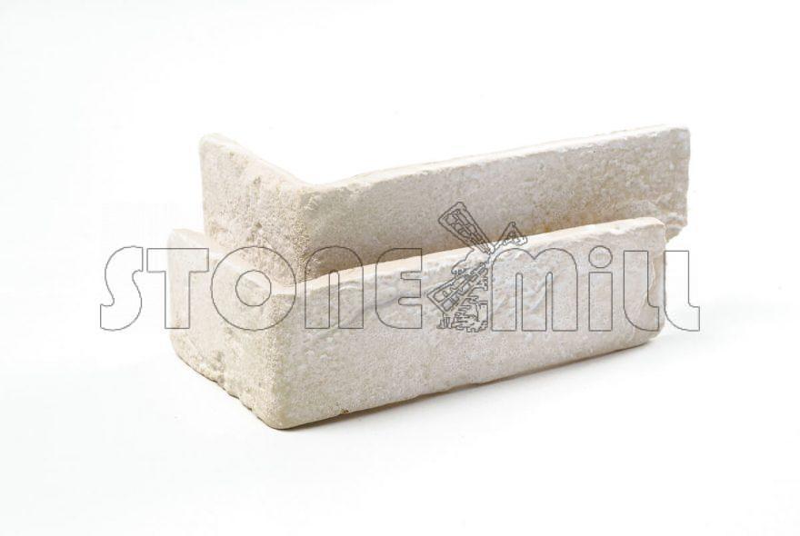 Угловые элементы декоративный кирпич Шамотный песчаный