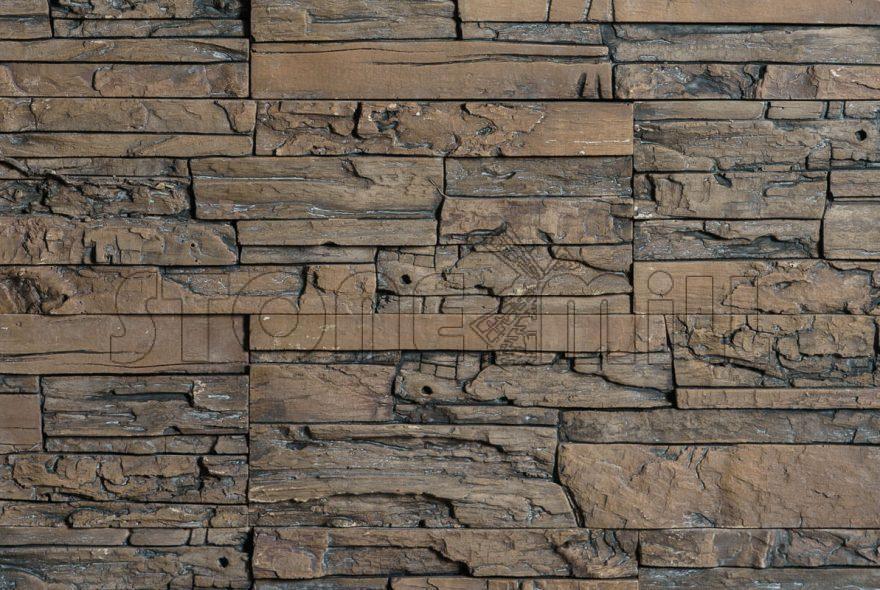 декоративный камень СТОУНВУД коричневый